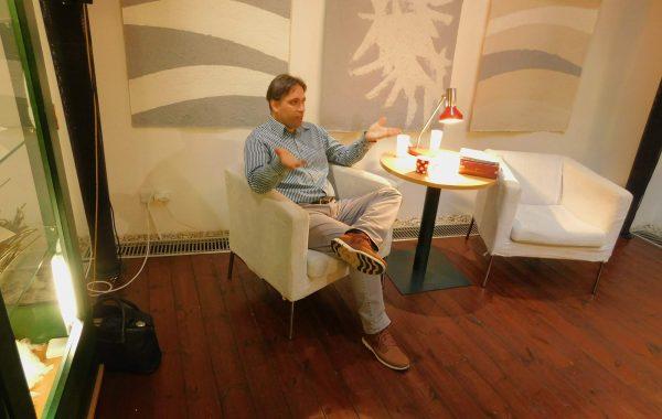Aber Faber Margaret: setkání s překladatelem Viktorem Janišem 4.10.2018