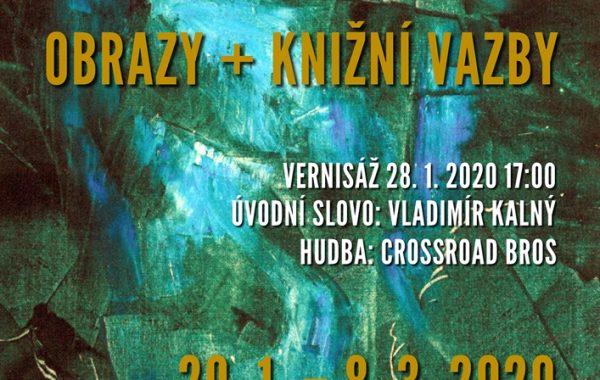 Vernisáž výstavy Ladislav Hodný (starší + mladší) 28. 1. 2020