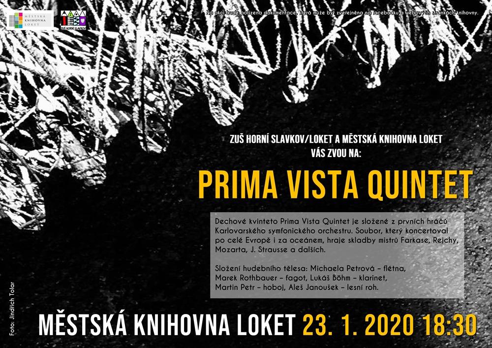 Prima Vista Quintet plakát střední